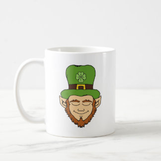 Dreamy leprechaun coffee mug