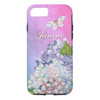 Dreamy Lilac Hydrangea Blooms Case-Mate iPhone Case