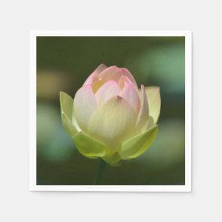 Dreamy Lotus Blossom Paper Napkin