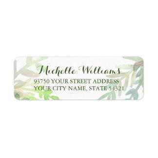Dreamy Meadow Return Address Labels
