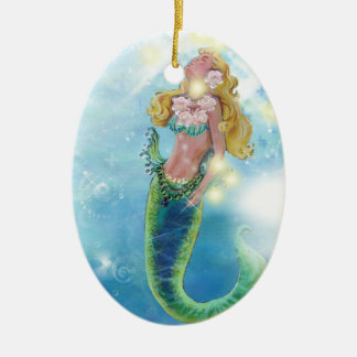 Dreamy Mermaid Christmas Ornament