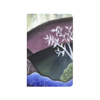 Dreamy Moonlit Landscape Journal