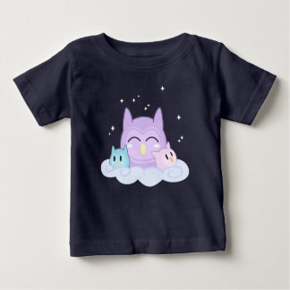 Dreamy Owls Baby T-Shirt