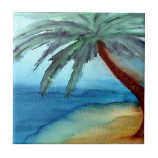 Dreamy Palm Tree Tile