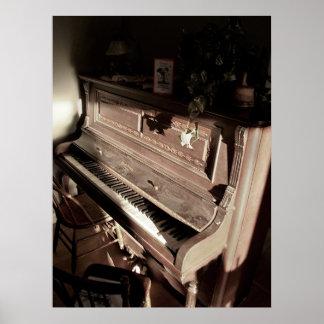 Dreamy Piano Poster