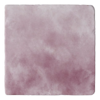 Dreamy Pink Abstract Trivet