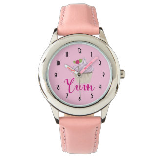 Dreamy Pink Cupcake with Raspberry Yum! Watch