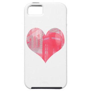 Dreamy Pink Telephone Box iPhone 5 Case