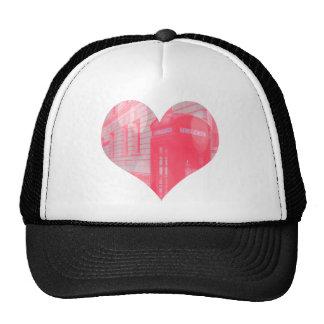 Dreamy Pink Telephone Box Trucker Hat