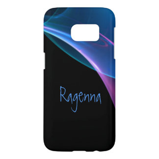 Dreamy Purple and Blue Sweep Samsung Galaxy S7 Case