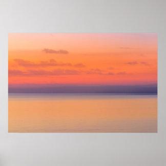 Dreamy Romantic Ocean Vista Poster