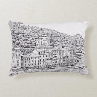 Dreamy Romantic Portofino, Italy Pillow