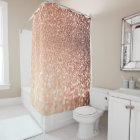Dreamy Rose Gold Glitter - Peach Glittereffect
