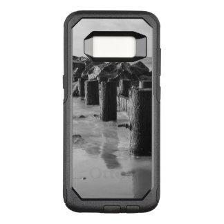 Dreamy Seawall Grayscale OtterBox Commuter Samsung Galaxy S8 Case