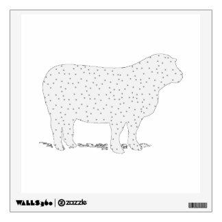 Dreamy Sheep Wall Sticker