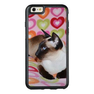 Dreamy Siamese Cat Hearts OtterBox iPhone 6/6s Plus Case