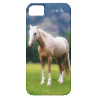 Dreamy  Soft Palomino Horse Painted Look iPhone 5 Cover