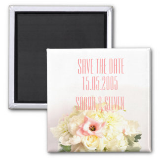 Dreamy Sweet Bouquet Save the date Refrigerator Magnet