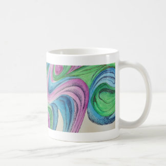 Dreamy Watercolor with Detail Pen Mug