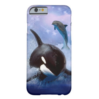 Dreamy Whale and dolphins play iPhone 6 Case