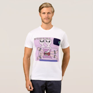 DreamySupply Alien Abduction Men's White T-Shirt