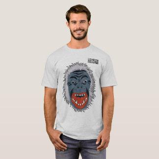 DreamySupply Angry Chimp Ash Grey T-Shirt