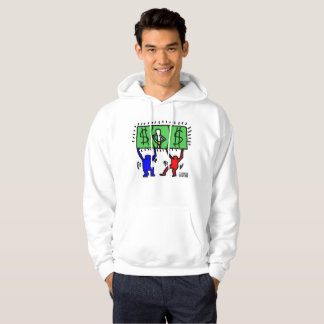 DreamySupply Cash Rules Everything Pop Art Hoodie