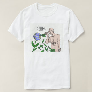 DreamySupply Earths Resources In Our Hands T-Shirt