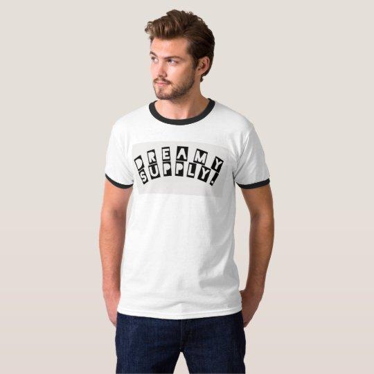 DreamySupply Logo Men's Basic Ringer T-Shirt