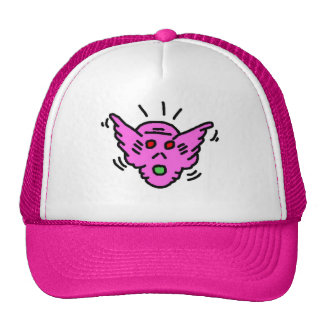 DreamySupply Purple Demon Pop Art Womens Cap Trucker Hat