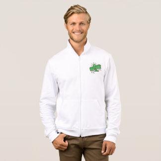DreamySupply SuperFly Pop Art Fleece Zip Jogger Jacket