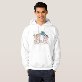 DreamySupply The World At Their Hands White Hoodie