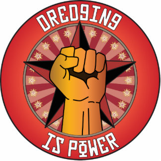Dredging Is Power Photo Cutout