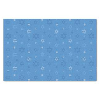 Dreidel Cutout Stars Tissue Paper