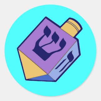 dreidel for Hanukkah sticker