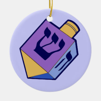 dreidel hanging ornament