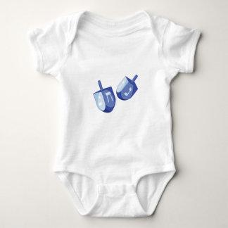 Dreidels Baby Bodysuit