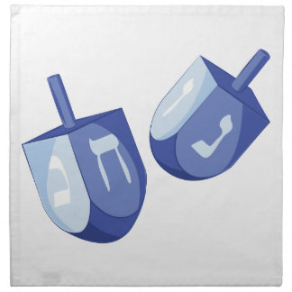 Dreidels Cloth Napkins