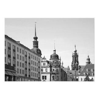 Dresden. City view Photo Print