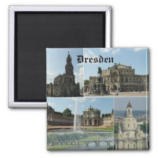 Dresden, Dresden Square Magnet
