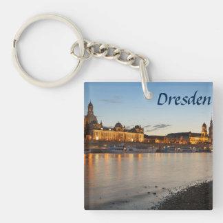 Dresden Elbe view Keychain