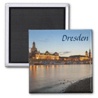 Dresden Elbe view Magnet