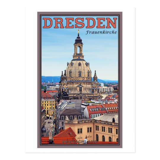 Dresden - Frauenkirche Postcard