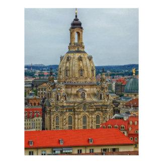 Dresden, Germany Custom Letterhead