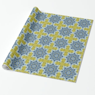 Dresden Kaleidoscope Design Wrapping Paper