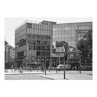 Dresden.  View of modern city Photo Print