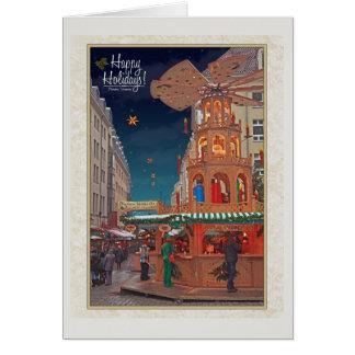 Dresden - Weihnachtspyramide - HH W Card
