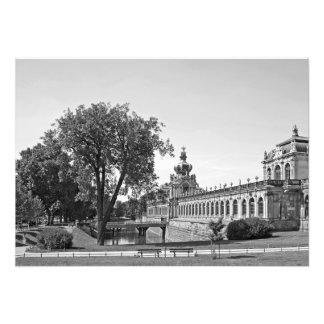 Dresden. Zwinger. Crown Gates Photo Print
