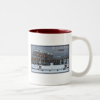 Dresden - Zwinger Palace Winter LS Two-Tone Coffee Mug