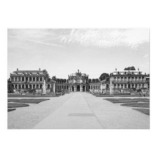 Dresden. Zwinger. Pavilion on the shaft Photo Print
